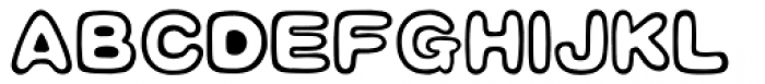 HYBai Qi J Font UPPERCASE