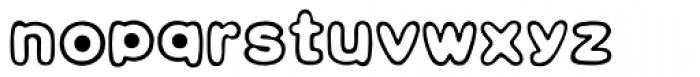 HYBai Qi J Font LOWERCASE