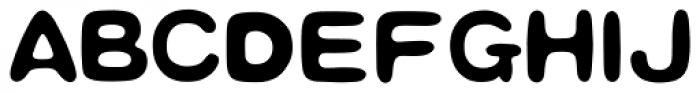 HYHei Mi J Font UPPERCASE
