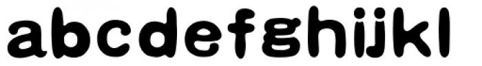 HYHei Mi J Font LOWERCASE