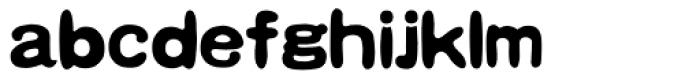 HYHei Qi J Font LOWERCASE