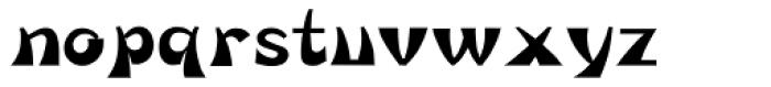 HYHua Die J Font LOWERCASE