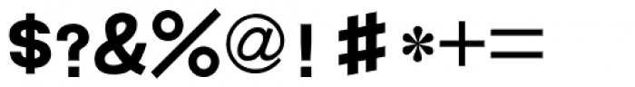 HYLi Hei J Font OTHER CHARS