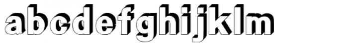 HYLi Hei J Font LOWERCASE