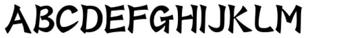 HYShu Hun J Font UPPERCASE