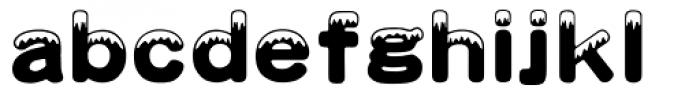 HYXue Feng J Font LOWERCASE
