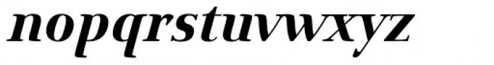 Hybi10 Metal Bold Italic Font LOWERCASE
