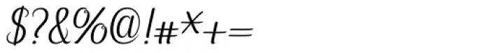 Hybi5 Finescript Regular Font OTHER CHARS