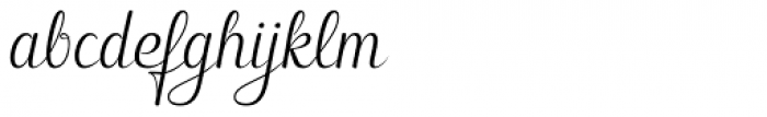 Hybi5 Finescript Regular Font LOWERCASE