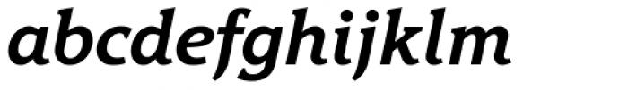 Hybrid Bold Italic Font LOWERCASE