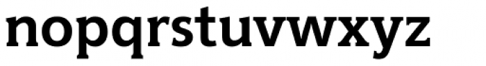 Hybrid Bold Font LOWERCASE