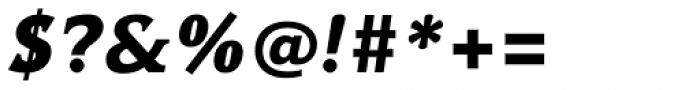 Hybrid ExtraBold Italic Font OTHER CHARS