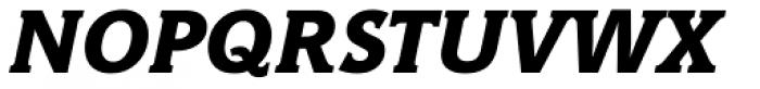 Hybrid ExtraBold Italic Font UPPERCASE