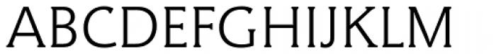 Hybrid Light Font UPPERCASE