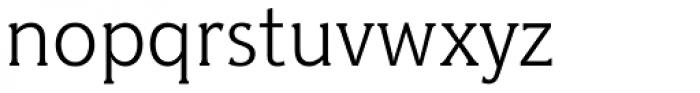 Hybrid Light Font LOWERCASE