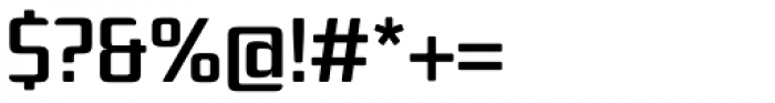 Hydrargyrum C Medium Font OTHER CHARS