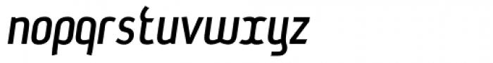 Hydrate Italic Font LOWERCASE