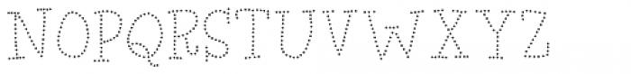 Hyggebukser Dot 2 Font UPPERCASE