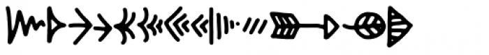 Hyggebukser Things Font UPPERCASE