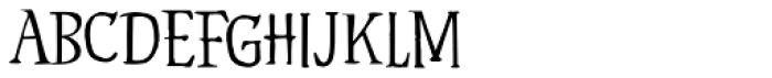 Hyldemoer Font UPPERCASE
