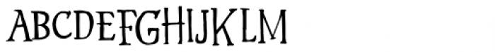 Hyldemoer Font LOWERCASE