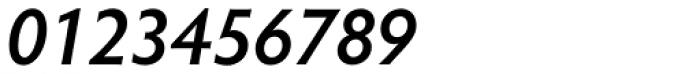 Hypatia Sans Pro SemiBold Italic Font OTHER CHARS