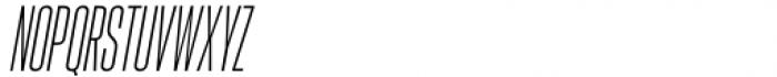 Hype vol 2 0500 Light Italic Font UPPERCASE