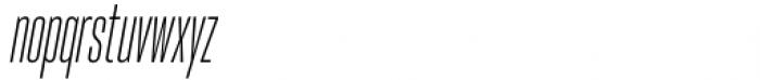 Hype vol 2 0500 Light Italic Font LOWERCASE