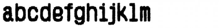 Hypermarket Bold Font LOWERCASE