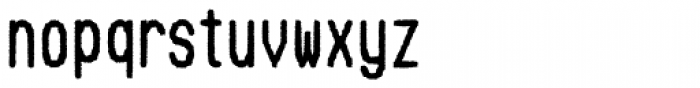 Hypermarket Cond Font LOWERCASE