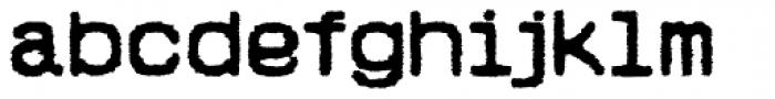 Hypermarket Exp Bold Font LOWERCASE