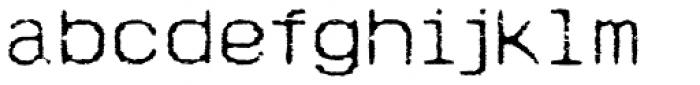 Hypermarket Exp Light Font LOWERCASE
