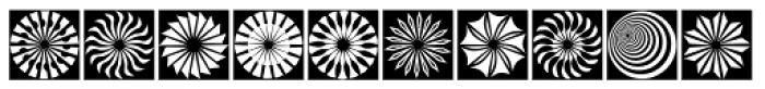 Hypnotica Font UPPERCASE