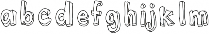 I Dont Want To Grow UpTo Grow Up! ttf (400) Font LOWERCASE