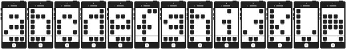 I Phone, You Phone ttf (400) Font LOWERCASE