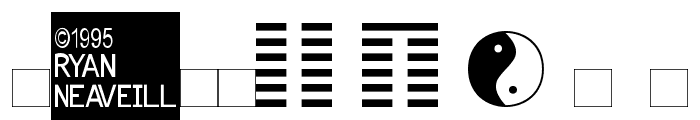 I Ching Font OTHER CHARS