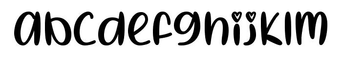 I Heart Summer Regular Font LOWERCASE