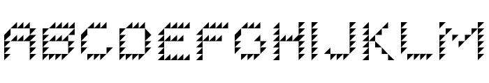 I ROBOT Regular Font LOWERCASE