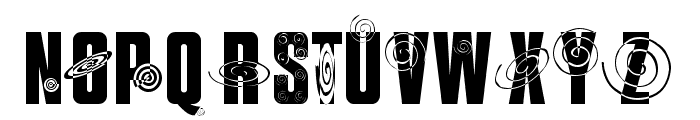 I SEE SPIRALS EVERYWHERE Font UPPERCASE