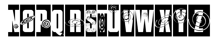 I SEE SPIRALS EVERYWHERE Font LOWERCASE