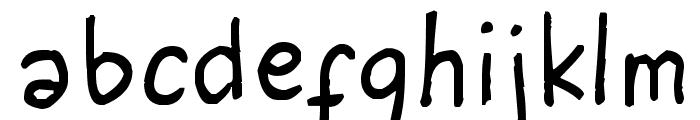 I am Seventeen Font LOWERCASE