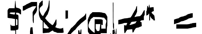 I have gone crazy Font OTHER CHARS