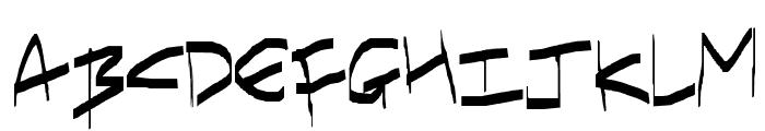 I have gone crazy Font UPPERCASE