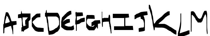 I have gone crazy Font LOWERCASE