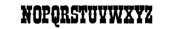 I.F.C. BOOTHILL Font UPPERCASE