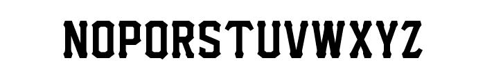 I.F.C. HARDBALL  Font LOWERCASE