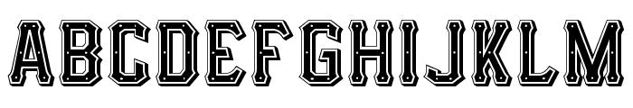 I.F.C. HOTROD TYPE Font UPPERCASE