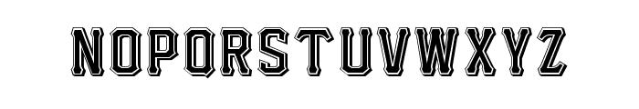 I.F.C. HOTROD TYPE Font LOWERCASE