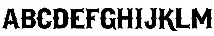 I.F.C. LOS BANDITOS Bold Font UPPERCASE