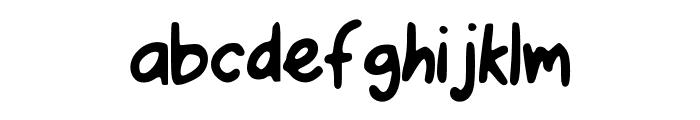 I_Love_Pugs Font LOWERCASE